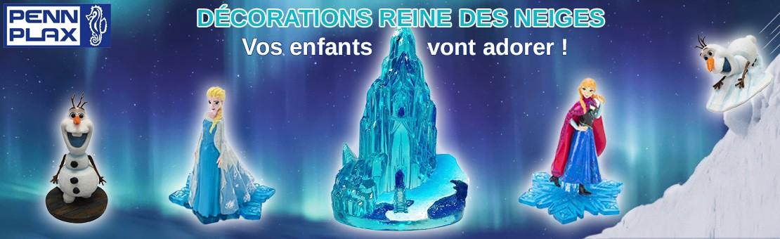 L'univers Reine des neiges dans votre aquarium !